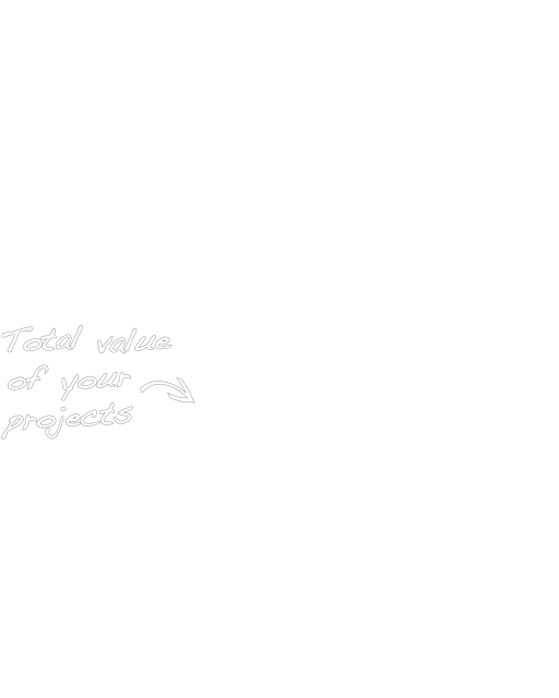 total value of your project